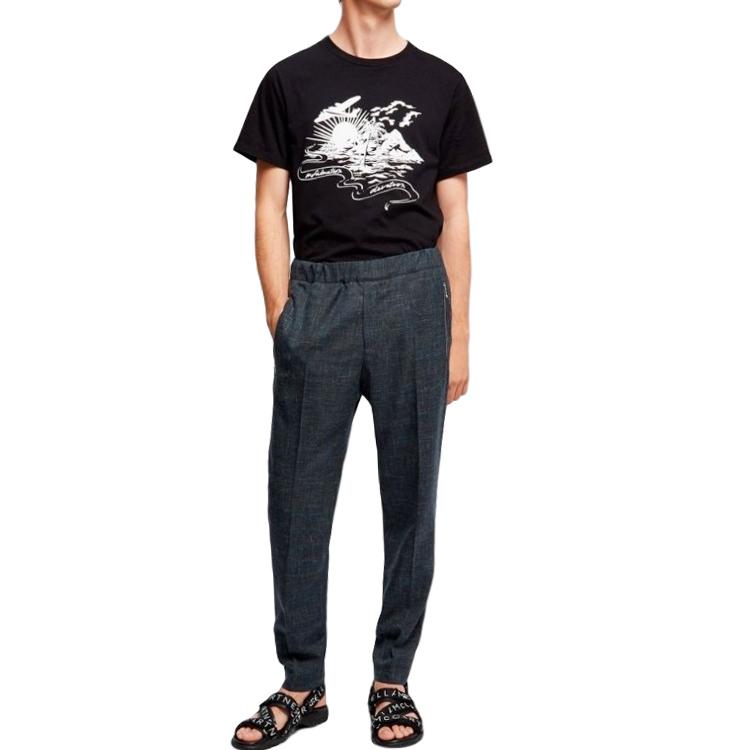 Stella McCartney Infactuation Devotion black short sleeve T-shirt