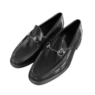 Gucci Black Men's Horsebit Loafers