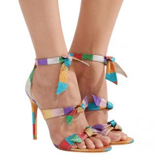 Alexandre Birman Multi-coloured Lolita Bow Stiletto Heels