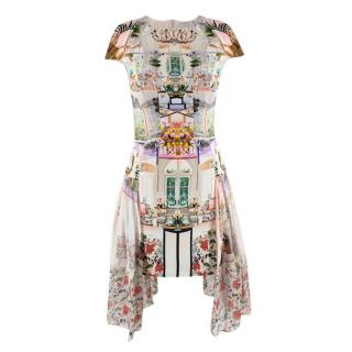 Mary Katrantzou Tea-Party Printed Dress