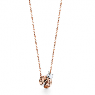 Tiffany & Co. Ladybug Pendant in 18k Rose Gold