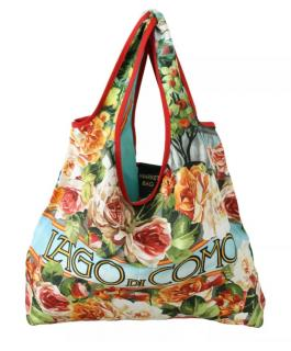 Dolce & Gabbana Floral Print Market Tote