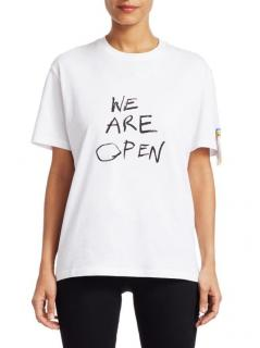 Stella McCartney We Are Open White T-Shirt