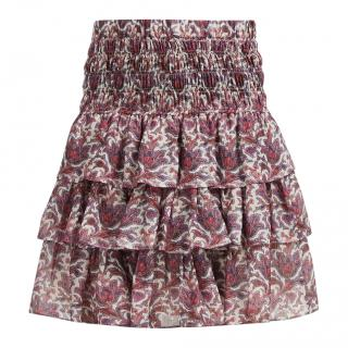 Isabel Marant Ruffled Tiered Nukia Skirt