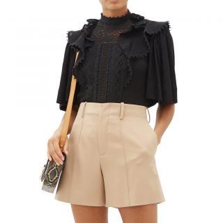 Isabel Marant black Ioleya blouse