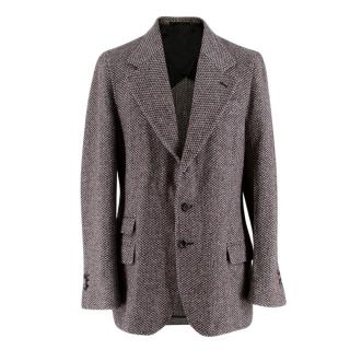 Yves Saint Laurent Tweed Tailored Jacket