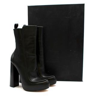 Alexander Wang Addison Platform Block Heel Boots
