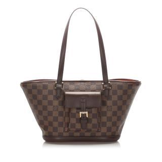 Louis Vuitton Damier Ebene Manosque PM shoulder bag