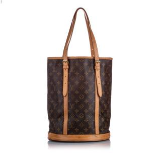 Louis Vuitton Monogram Bucket GM Shoulder Bag