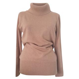 MaxMara camel cashmere blend jumper