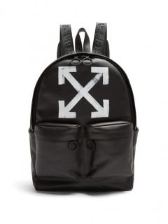 Off White Virgil Abloh Arrow Printed Backpack