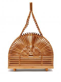 Cult Gaia Mini Dome Bamboo Bag