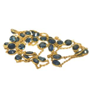 Fragments NY sapphire by the yard necklace