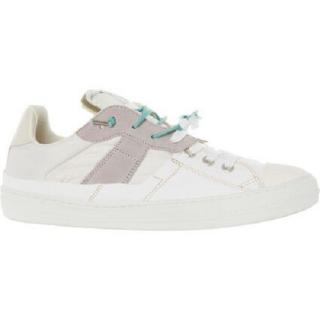 Maison Margiela Leather & Canvas Sneakers