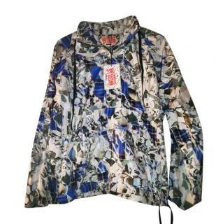 Basso & Brooke Printed Windbreaker Jacket