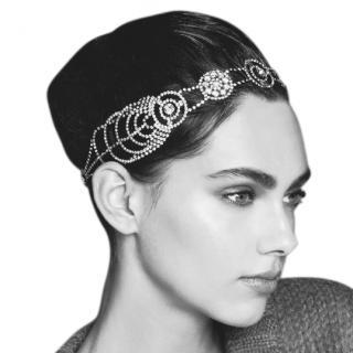 Jennifer Behr Cosmos Crystal Embellished Headband