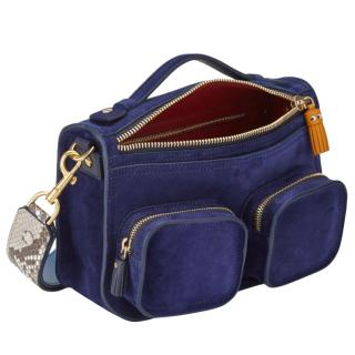 Anya Hindmarch The Ripley Satchel in Blue