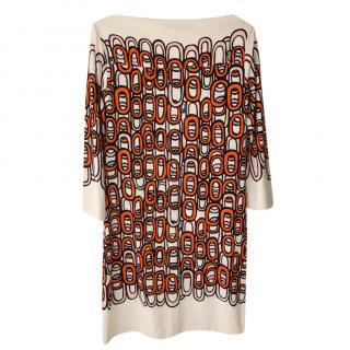 Diane von Furstenberg Ruri Printed Shift Dress