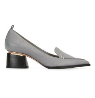 Nicholas Kirkwood Beya Block Heel Pumps in Grey