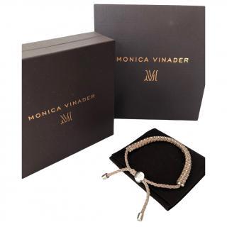 Monica Vinader Rose Gold Vermeil Rio Bracelet