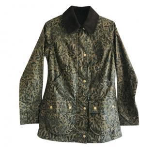 Barbour Michaelmas Poet floral print waxed jacket