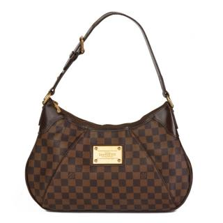 Louis Vuitton Damier Ebene Thames PM Tote Bag
