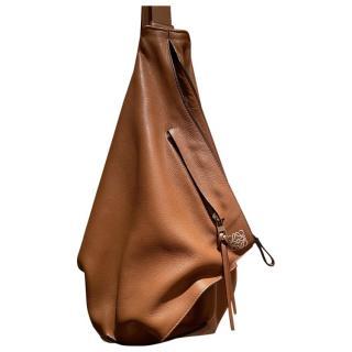 Loewe brown leather Anton backpack