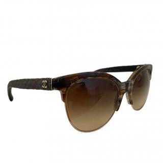 Chanel C501/S8 tortoise shell sunglasses