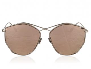 Dior Mirrored Silver Stella Sunglasses