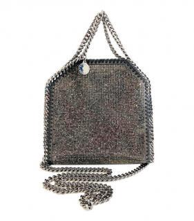 Stella McCartney Crystal Embellished Falabella Bag