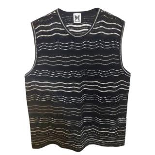 Missoni Woven Knit Sleeveless Top