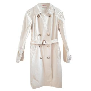 Prada Sport beige cotton trench coat