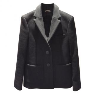 Balenciaga black wool blazer