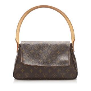 Louis Vuitton Monogram Looping Mini Top Handle Bag