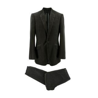 Kilgour Savile Row Grey Corduroy Bespoke Suit
