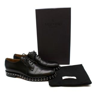 Valentino Men's Rockstud Derby Brogues