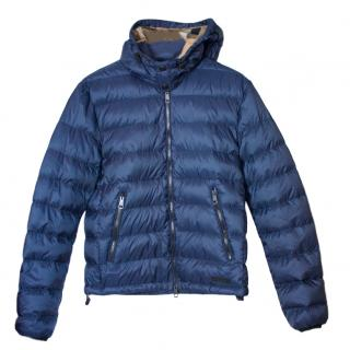 Burberry Brit navy down jacket