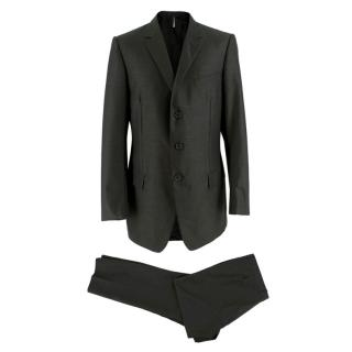 Dior Grey Single Breasted Two-Piece Suit