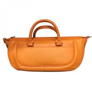 Louis Vuitton Dhanura MM orange Epi leather handle bag