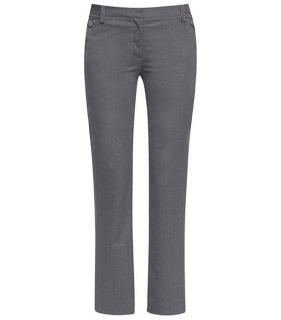 Tory Burch Kane grey wool blend trousers