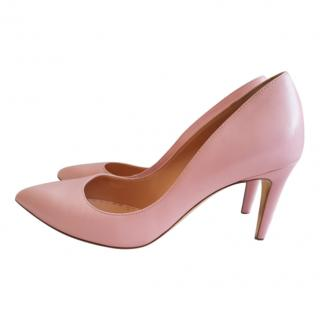 Rupert Sanderson Nappa Leather Pumps in Rosewater