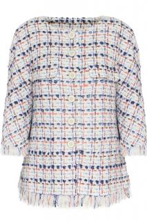 Chanel Lesage multicoloured tweed jacket