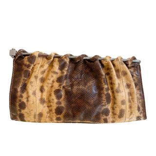 Gucci by Tom Ford Lizard Skin Clutch