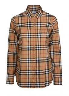 Burberry London check long-sleeve shirt