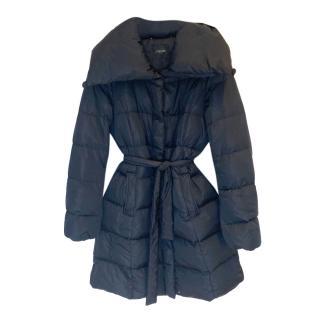 MaxMara Weekend black puffer coat