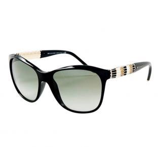 Bvlgari 8104 Serpenti black sunglasses