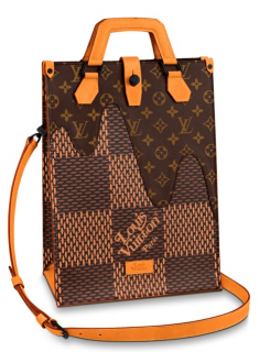 Louis Vuitton x Nigo Limited Edition Giant Damier Mini Tote