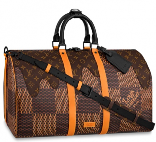 Louis Vuitton x Nigo Giant Damier Keepall 50
