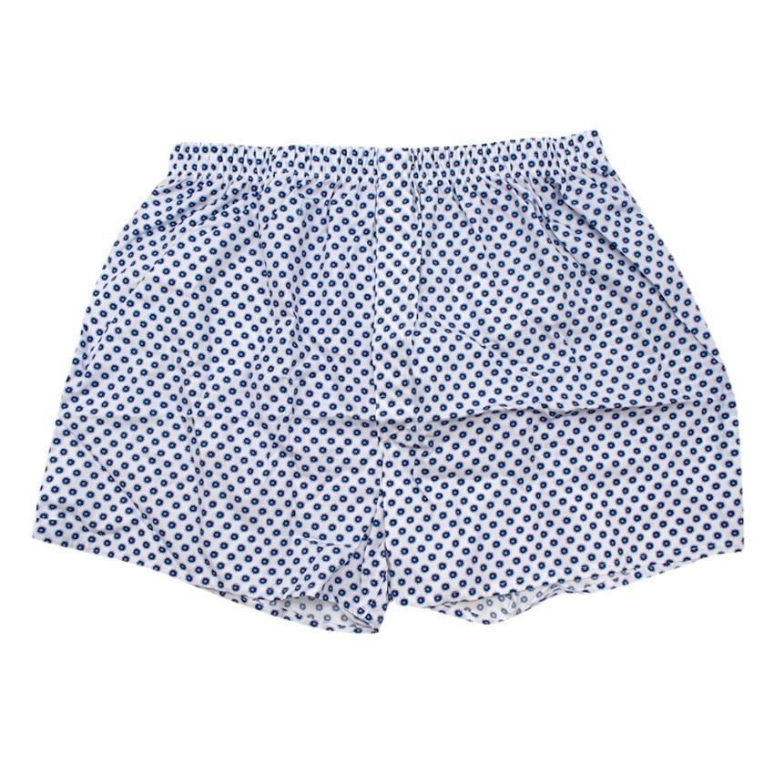 Sunspel Polka dot Boxer Shorts