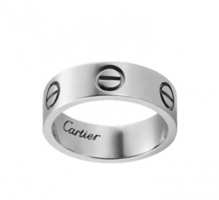 Cartier Love Ring - White Gold